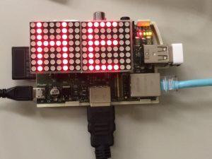 Raspberry Pi and LED Arrary