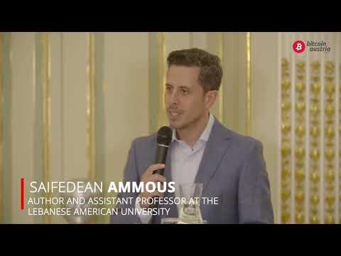 Saifedean Ammous – The Bitcoin Standard